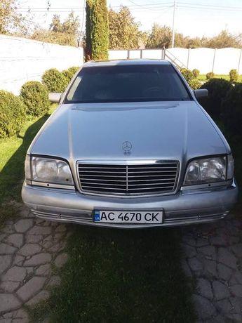 Продам mercedes-benz s class w140 1996
