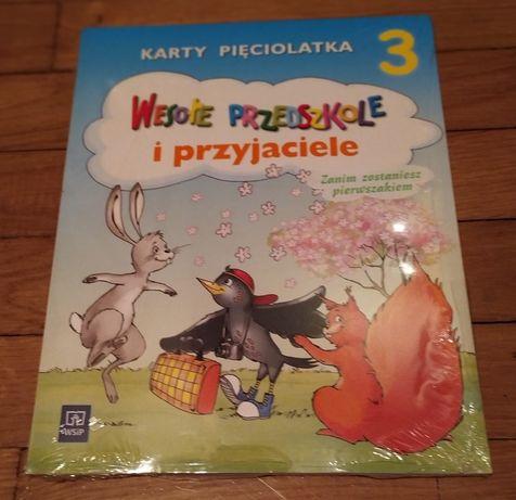 Wesołe przedszkole i przyjaciele karty pięciolatka część 3