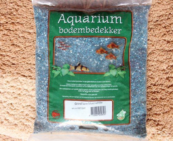 Zwirek do akwarium 2-4 mm 4 kg dekoracyjny terrarium