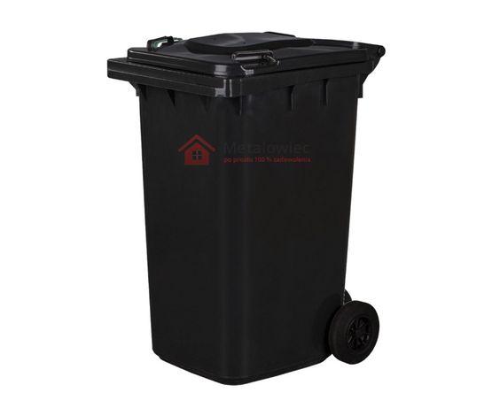 POJEMNIK na odpady zmieszane KOSZ na śmieci 240L Śmietnik CZARNY
