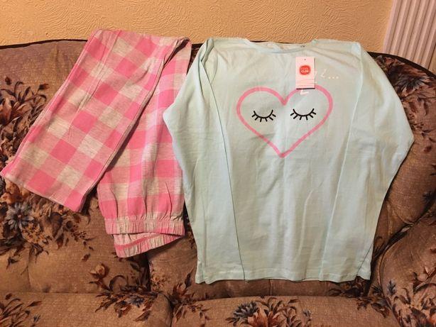 Одежда девичья.Пижама подростковая(р164).100%хл.Cool club by Smik.