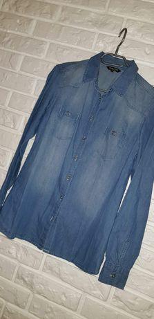 Koszula damska jeans nowa S/M 36/38