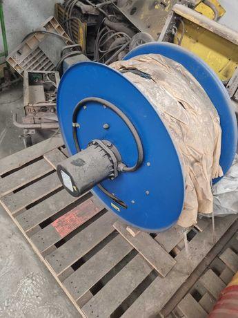Enrolador Automático de cabo electrico para Pórtico de elevação