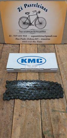 Corrente KMC 1/2 x 1/8 para bicicleta pasteleira