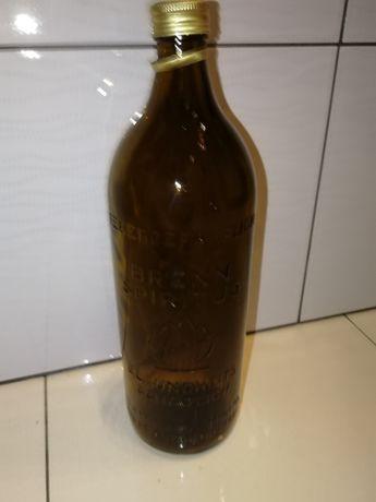 Stara butelka Unikat stan bdb butelka po spirytusie unikatowa butelka