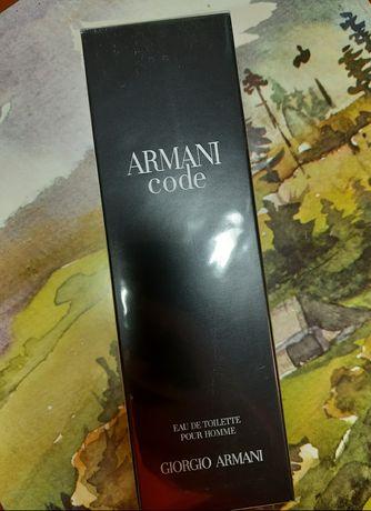 Giorgio Armani Code оригинал 125мл духи туалетная вода Армани Код пурр