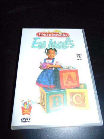 Primeiras Impressões em INGLÊS DVD Interactivo