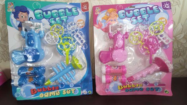 Bubble Game Set для детей набор мыльных пузырей с игрушками