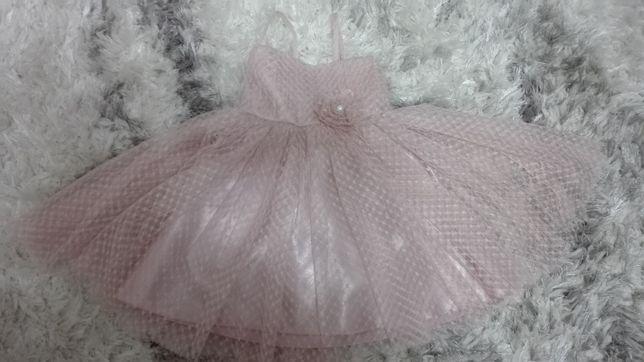 Tiulowa sukienka księżniczki 92