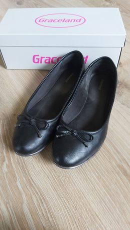 Buty Baleriny czarne