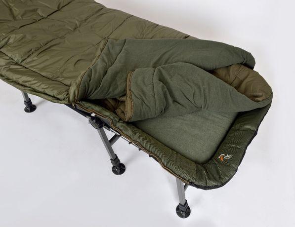 Łóżko Karpiowe Elektrostatyk L14 + Śpiwór SB1 Sleep System