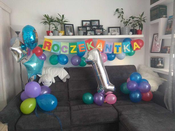 girlanda, baner urodzinowy