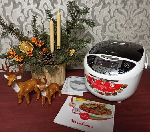 Продам новую мультиварку Moulinex Fuzzy Logic MK707832