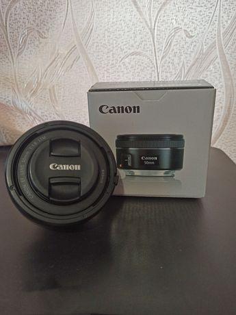 Oбъектив Canon 50 mm f1.8 stm