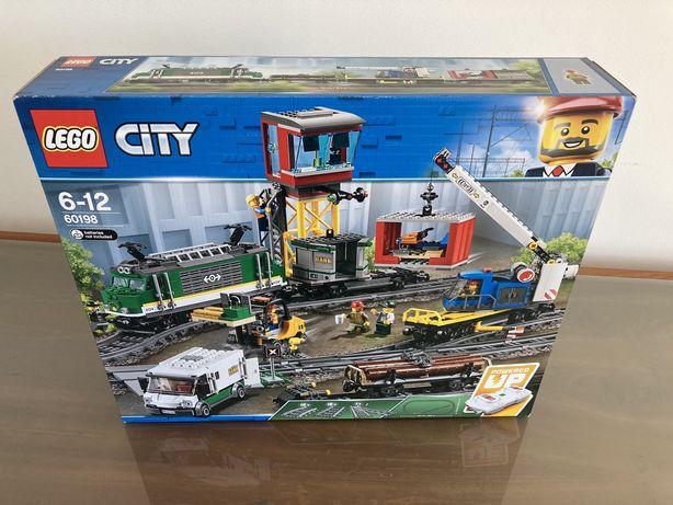 Lego City 60198 Comboio de Cargas Novo e Selado