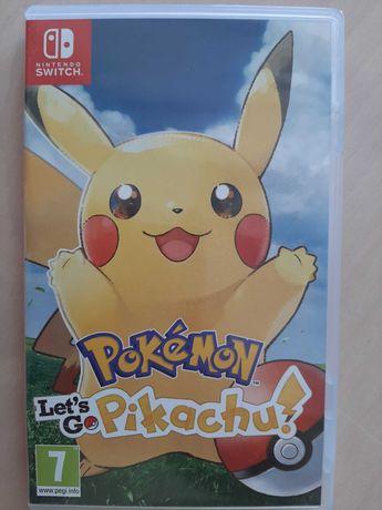 Gra NINTENDO SWITCH Pokemon: Lets Go Pikachu - gra używana
