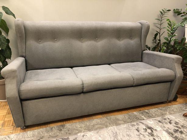 Sprzedam sofę z opcją spania i pojemnikiem na pościel