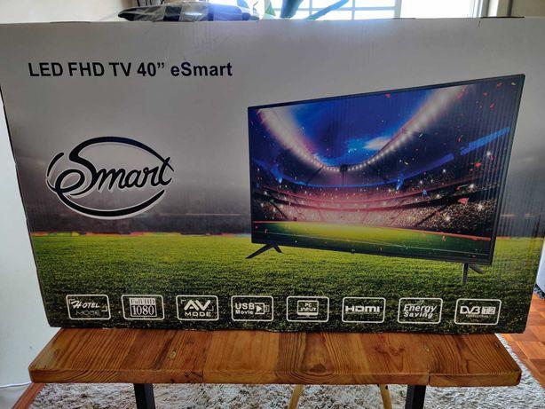 "TV LED 40"" FullHD como nova marca eSmart"