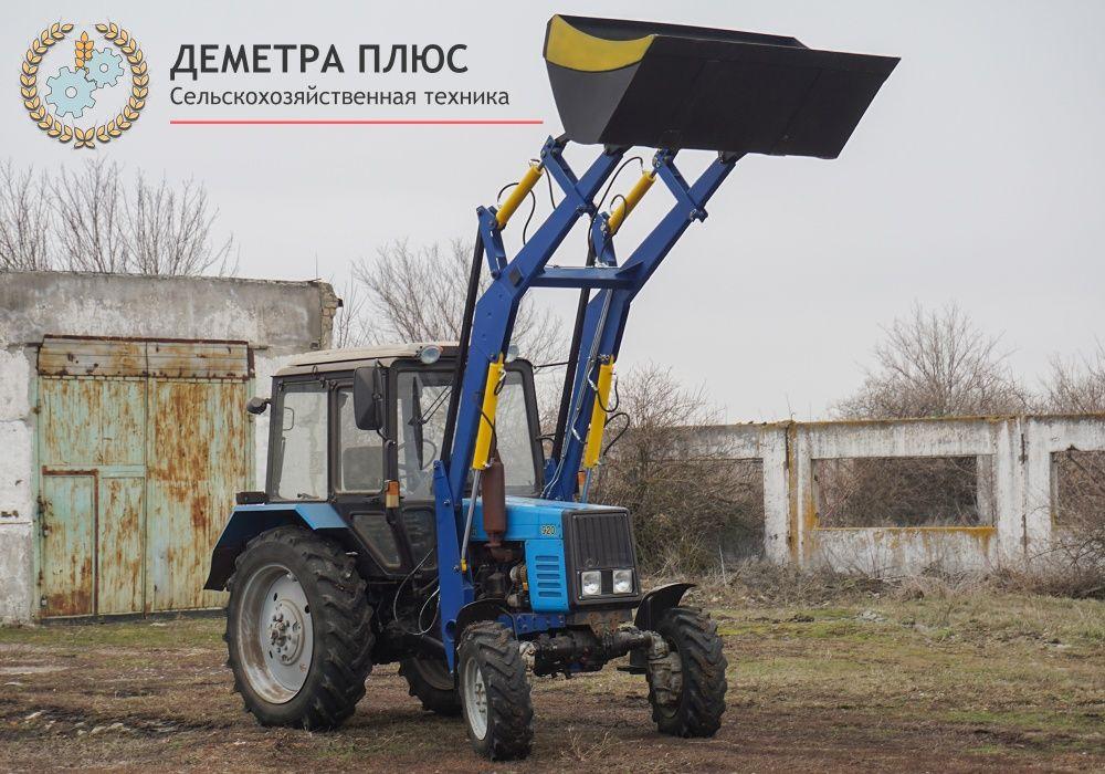 Фронтальный погрузчик КУН-4.2 с ковшом 2.0 м к МТЗ 80, 82, 892, 1025