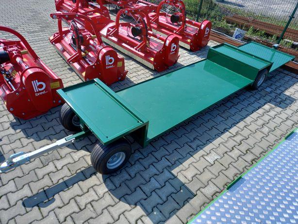 Wózek sadowniczy 3 paletowy, 3 skrzyniopalety od ręki