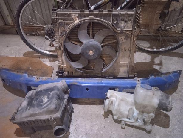 Вито vito 639 радіатор усилитель бампера бачок