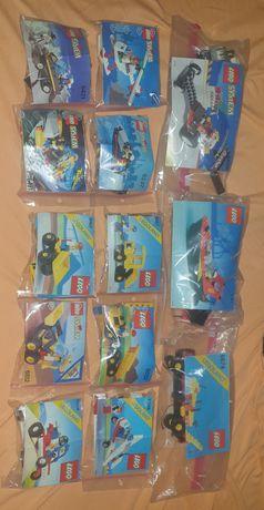 Prawie 5kg klocków Lego mix w tym 14 zestawów, lata 80 i 90