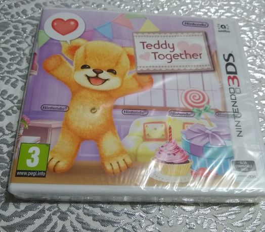 Nintendo 3DS Teddy Together nowa gra