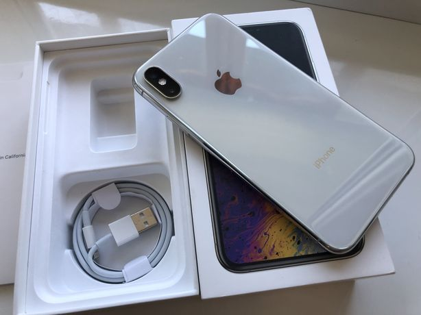 iPhone XS Silver / Идеал