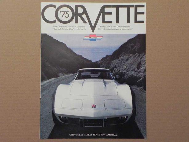 Prospekt - CHEVROLET CORVETTE C3 - 1975 r
