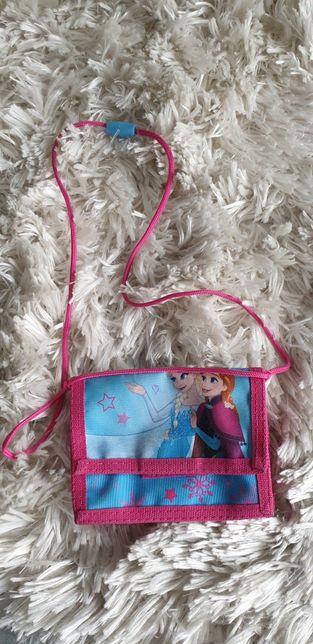 Torebka portfel kraina lodu Elsa