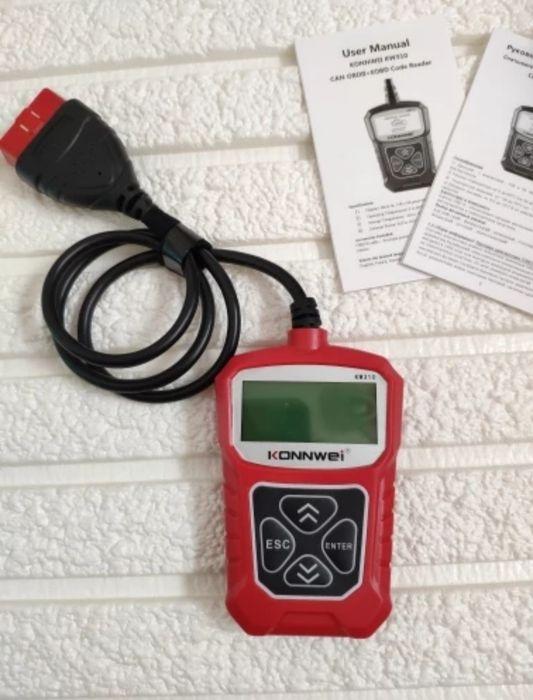 Skaner diagnostyczny - Konnwei KW310 OBD2 nie wymaga bluetooth WiFi Kraków - image 1