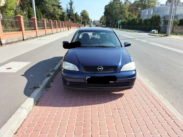 Opel Astra 1.6 8V z gazem