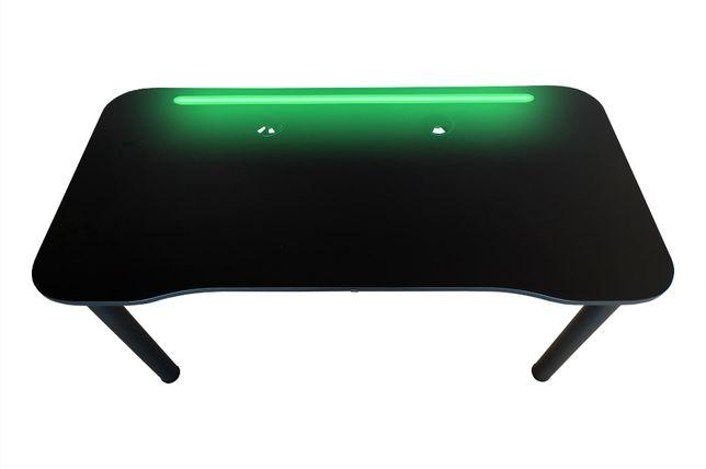BIURKO gamingowe LED Blat krzywoliniowy Okazja 3 szt. w tej cenie !!