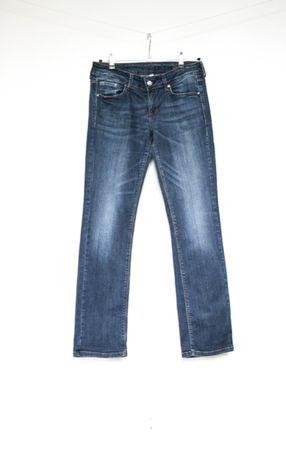 Mango Christy proste jeansy spodnie 38 M