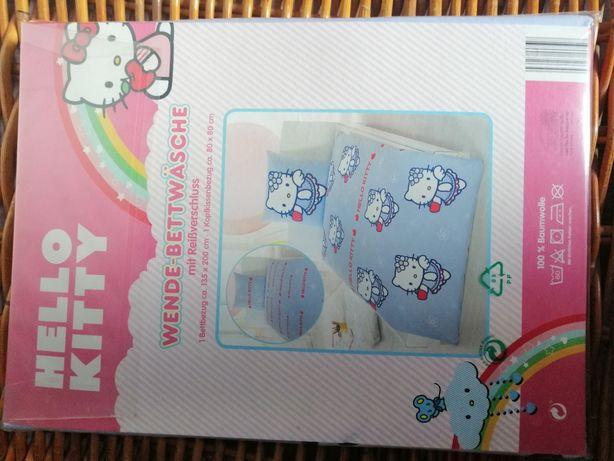 Pościel Hallo Kitty 135x200 80x80 nowa