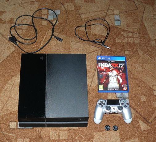 PS 4 500GB # sprawna # zestaw + gra # Playstation4 !! BAN !!