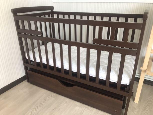 Продам  ліжечко з матрасом