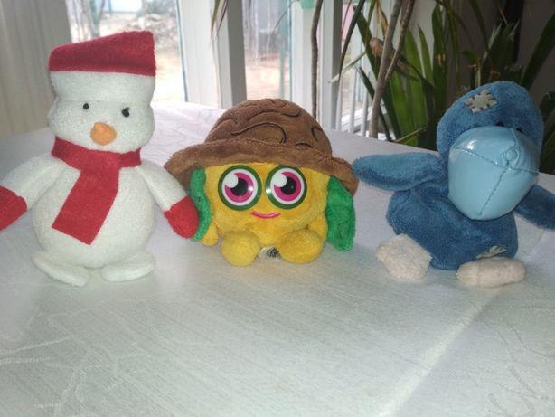 Детские мягкие игрушки маленькие