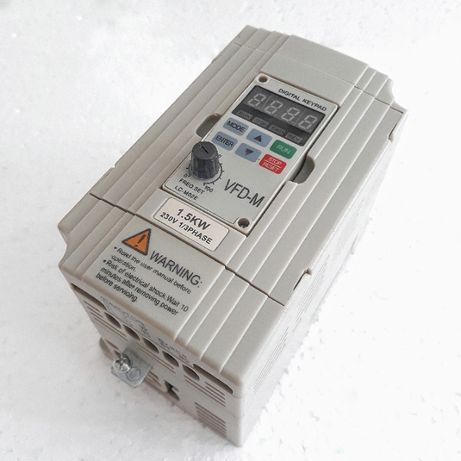 Частотный преобразователь Delta 1,5Квт VFD-M, частотник