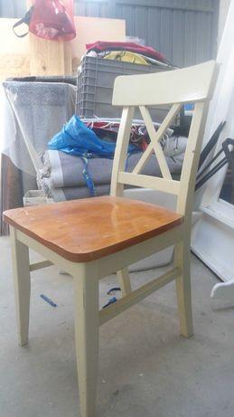 Cadeira rustica maciça linda