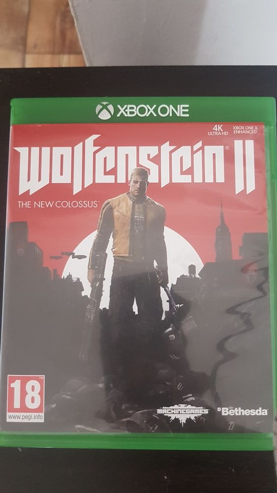 Wolfenstein 2 The New Colossus Xbox One PL Malczyce - image 1