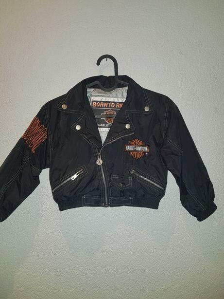 Kurtka motocyklowa dziecięca,na motor Harley Davidson6-7lat.Oryginalna