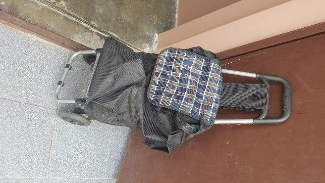 Wózek, torba na zukupy