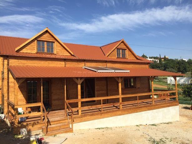 Casa de Madeira, Bungalow, Pré-Fabricada T.5 200 M2