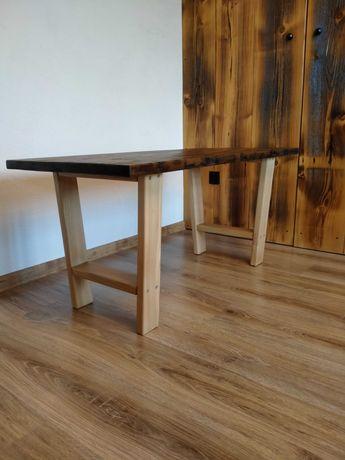 Stół, stolik, ława z czereśni, nowy, loft