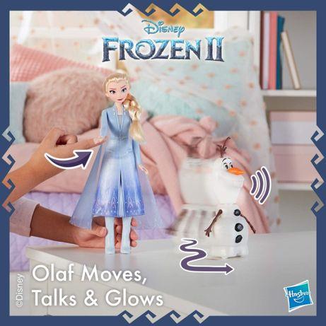 Интерактивная кукла Эльза и Олаф Холодное сердце 2 Disney Frozen
