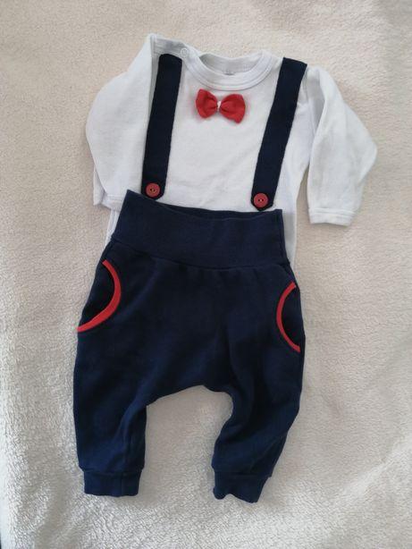 Komplet niemowlęcy elegancki
