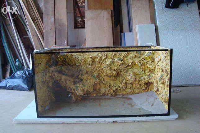 akwarium , terrarium 100x50x50, ostatnia nowa sztuka cena za 1 szt.
