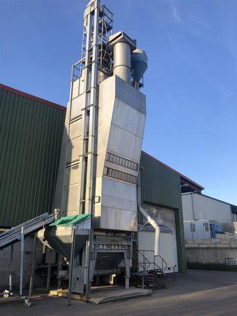 Przewozna Suszarnia Stela Universal 18 gaz 100 t/d kukurydzy