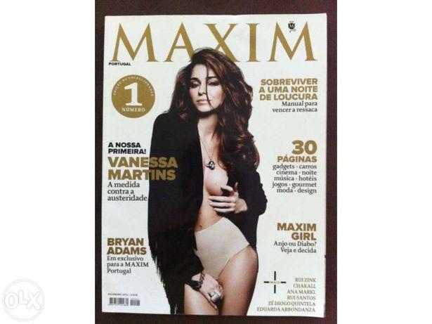 Revista Maxim nº1 com Vanessa Martins (Para coleccionadores)